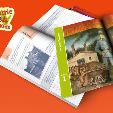 [geschiedenis] Corrie4Kids Eenlespakket over het leven van de Nederlandse verzetsvrouw Corrie. Het lespakket bestaat uit een prachtig magazine 'Corrie!', een lerarenhandleiding, een leerdagboek, een DVD en een digitale viewer. meer info