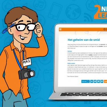 [lezen / mediawijsheid] News2Learn Begrijpend lezen en mediawijsheid op een innovatieve manier! meer info