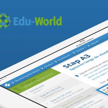 [innovatie] Edu-World Innovatief online platform voor de leraar. meer info